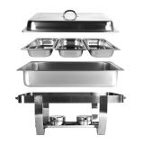 Chafing Dish Chef  inkl. 3 x GN1/3