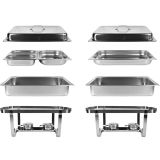 SET 2x Chafing Dish Multi-Twin