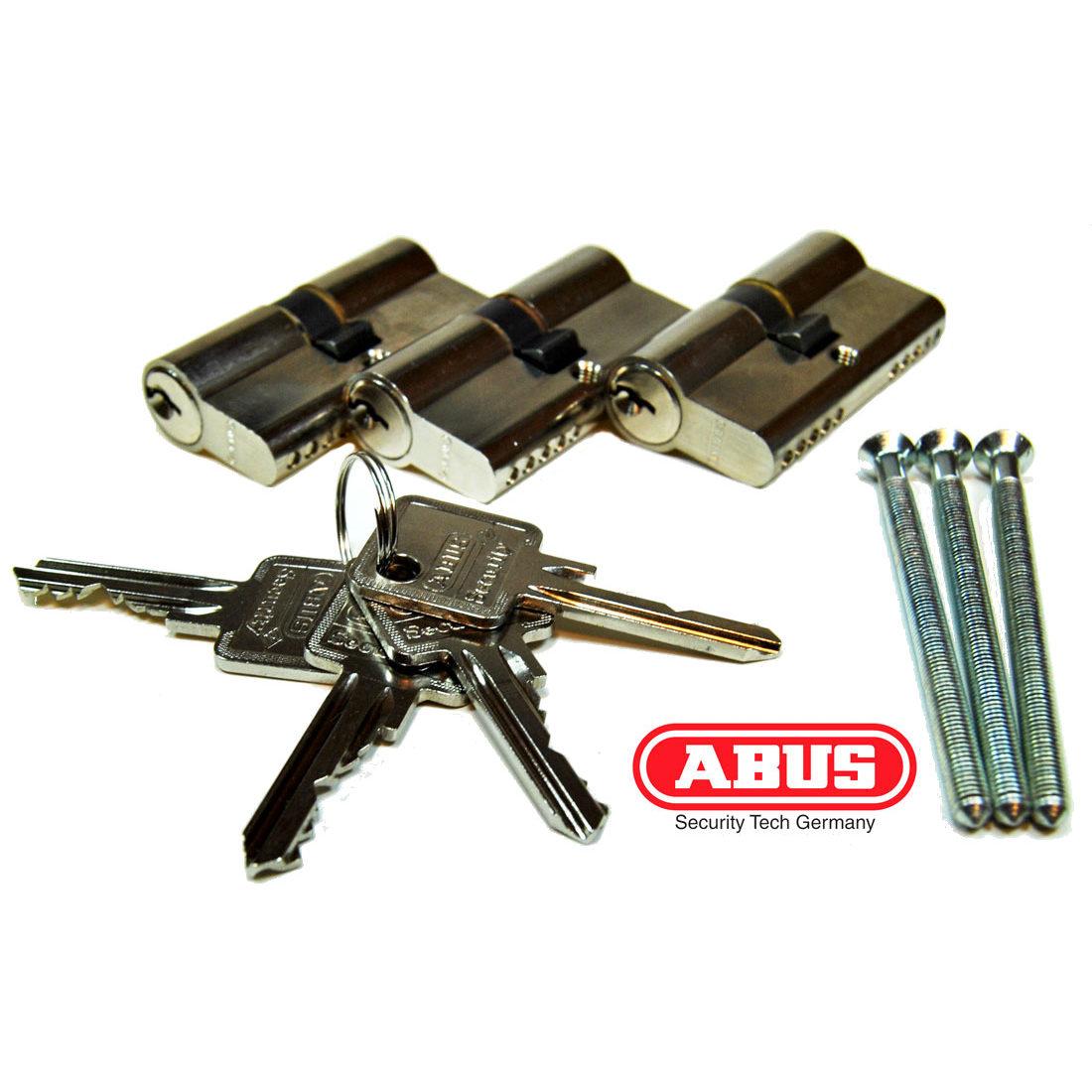 ABUS Türzylinder-Set inkl. 4x Schlüssel