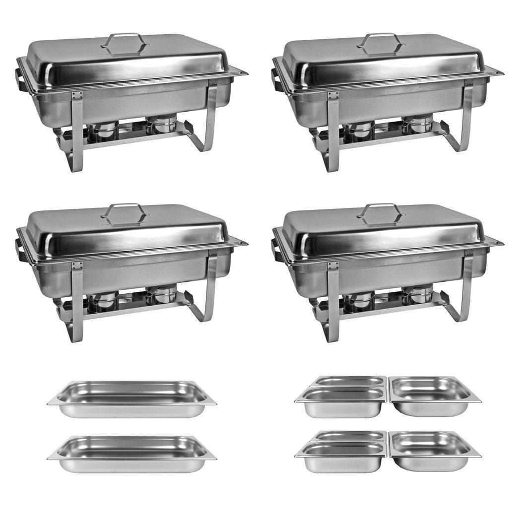 SET 2x Chafing Dish Multi-Twin