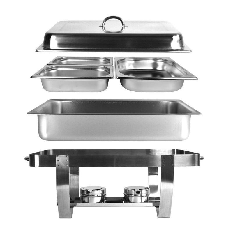 chafing dish 9l speisew rmer gn1 1 gn1 2 2 x gn1 4 konsi. Black Bedroom Furniture Sets. Home Design Ideas