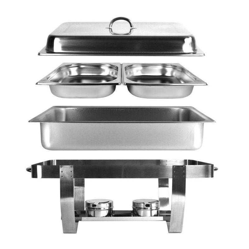set 3x chafing dish speisew rmer 2x gn1 2 3x gn1 3 1 1 konsi. Black Bedroom Furniture Sets. Home Design Ideas