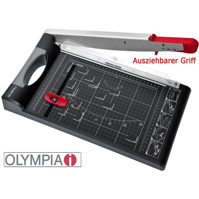 Hebelschneider Olympia G4410 Schneidelineal